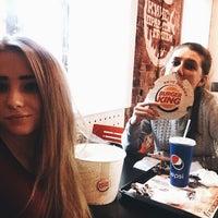 Photo taken at Burger King by Julya on 1/14/2015
