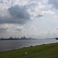 Photo taken at Kranji Beach Battle Site by Melvin K. on 9/20/2013