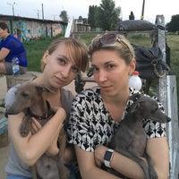 Photo taken at Дрессировочная площадка клуба Гелион (на Зодчих) by Любовь С. on 7/15/2016