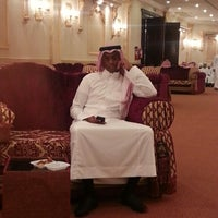 Photo taken at قاعة الملكة by Yasser A. on 8/14/2013