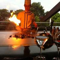 5/12/2013 tarihinde Маша Л.ziyaretçi tarafından Turquoise Restaurant'de çekilen fotoğraf
