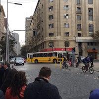 Photo taken at Santiago a Mil (Plaza de La Constitución) by Gonzalo O. on 5/31/2015