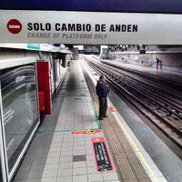 Photo taken at Metro Quilín by Gonzalo O. on 7/7/2013