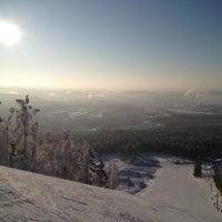 Снимок сделан в ГЛК Гора Волчиха пользователем Vadim S. 1/3/2013