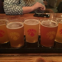 Photo taken at Barrier Brewing Co. by Jon H. on 1/18/2017