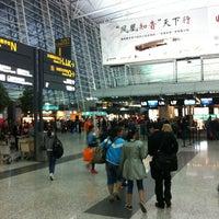 Photo taken at Guangzhou Baiyun International Airport (CAN) by Agayev on 4/12/2013