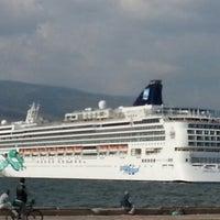 Photo taken at İzmir Limanı by TC Sbri D. on 5/15/2013
