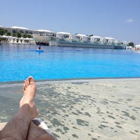 Photo taken at Titanic Swimming pool by Erkan Y. on 6/12/2013