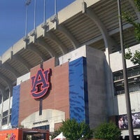 Photo taken at Pat Dye Field at Jordan-Hare Stadium by Lindsey S. on 10/6/2012