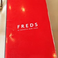 Photo taken at Fred's at Barneys New York by Andrea S. on 9/29/2012