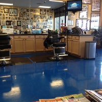 Photo taken at Vick's Barber Shop by James S. on 4/24/2013