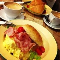 Photo taken at Breeze cafe by Sarah K. on 7/31/2013