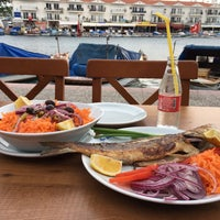 5/18/2017 tarihinde Fatih Y.ziyaretçi tarafından Foça Balıkçısı'de çekilen fotoğraf