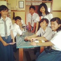 Photo taken at SMA Negeri 1 Surabaya by Muhammad N. on 9/18/2012