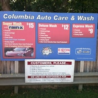 Photo taken at Columbia Car Wash and Detailing by Ryan C. on 9/21/2012