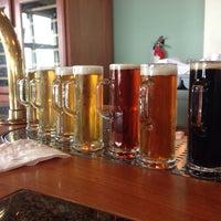 Photo taken at Beach Chalet Brewery & Restaurant by Ryan C. on 2/15/2014