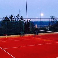 Photo taken at Tennis Club Avino by Domenico C. on 5/14/2014