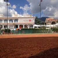 Photo taken at Tennis Club Avino by Domenico C. on 1/26/2014