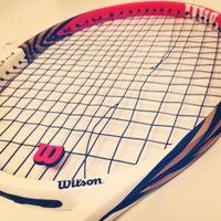 Photo taken at Tennis Club Avino by Domenico C. on 1/25/2014
