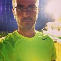 Photo taken at Tennis Club Avino by Domenico C. on 8/21/2013