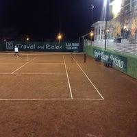 Photo taken at Tennis Club Avino by Domenico C. on 10/8/2013