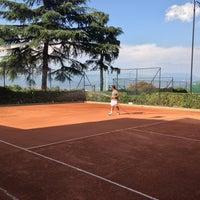 Photo taken at Tennis Club Avino by Domenico C. on 8/6/2013