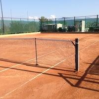 Photo taken at Tennis Club Avino by Domenico C. on 8/24/2013
