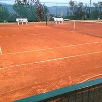 Photo taken at Tennis Club Avino by Domenico C. on 6/4/2014