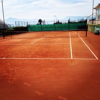 Photo taken at Tennis Club Avino by Domenico C. on 4/10/2014
