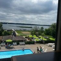 Photo taken at Arrowwood Resort by Deborah D. on 7/30/2013