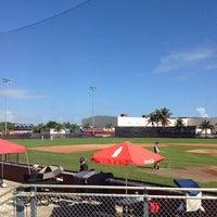 Photo taken at Barry University Baseball Field by Maria Vanessa B. on 2/2/2014