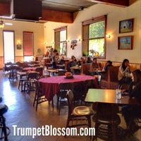 Photo taken at Trumpet Blossom Cafe by Gregory J. on 10/13/2013