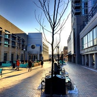 Photo taken at Pedestrian Mall by Gregory J. on 3/26/2014