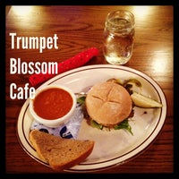 Photo taken at Trumpet Blossom Cafe by Gregory J. on 1/23/2013