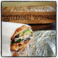 Photo taken at Which Wich? Superior Sandwiches by Gregory J. on 1/22/2013
