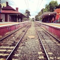 Photo taken at Prahran Station by Kane S. on 7/6/2013
