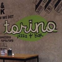 Photo taken at Torino Pizza Bar by Javier C. on 6/8/2014