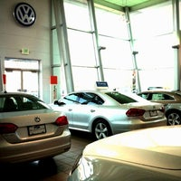Photo taken at McDonald Volkswagen by Chris H. on 3/19/2013