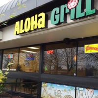 Photo taken at Aloha Grill by flip d. on 1/19/2014