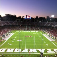 Photo taken at Stanford Stadium by Vic D. on 9/8/2013