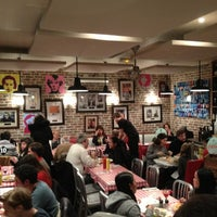 Photo taken at Schwartz's Deli by Frank G. on 2/14/2013