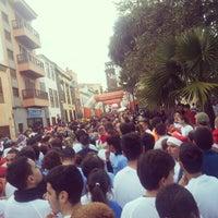 Photo taken at Plaza De La Concepción by Ruyman G. on 12/31/2012
