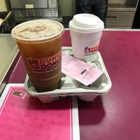 Photo taken at Dunkin' Donuts by Eric A. on 4/17/2017
