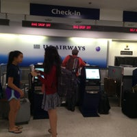 Photo taken at US Airways Ticketing by Eric A. on 8/17/2015