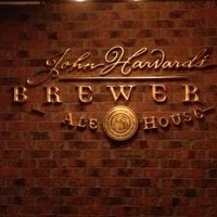 Photo taken at John Harvard's Brewery & Ale House by Eric A. on 9/29/2013