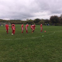 Photo taken at Merchant Field Soccer Complex by Eric A. on 10/8/2016