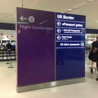 Photo taken at Security/Passport Control - T1 by Eric A. on 5/23/2013