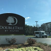 Photo taken at DoubleTree by Hilton Raleigh-Durham Airport at Research Triangle Park by Eric A. on 3/3/2017