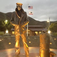 Photo taken at The Lone Sailor Memorial by Eric A. on 10/19/2012