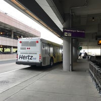 Photo taken at RDU - Rental Shuttle Stop Zone 18 by Eric A. on 1/31/2017